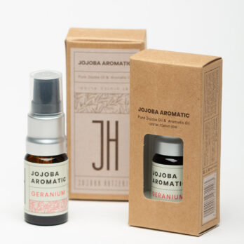 Jojobaöljy+Eteerinen Geraniumöljy
